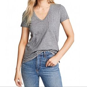 NWOT Madewell Whisper Cotton V-Neck Tee